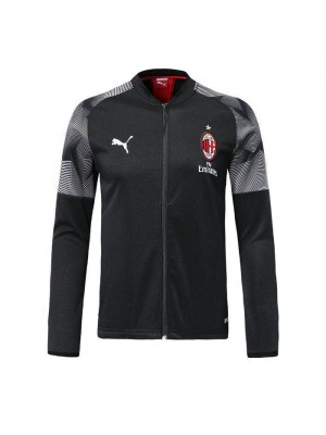 AC Milan Black V Neck Jacket 2018/2019
